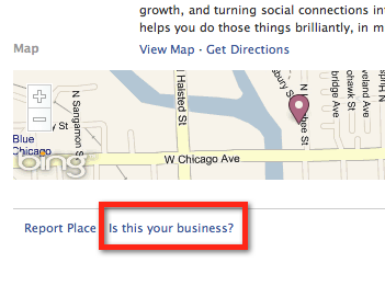 Facebook Places - Is this your business?