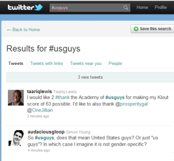 #Usguys Twitter Chat
