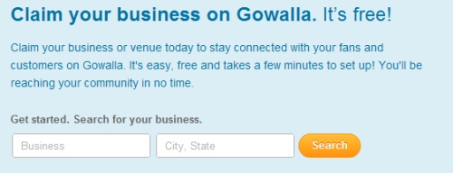 How to Claim Your Business on Gowalla