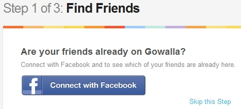 How to list your business on Gowalla Step 1 of 3