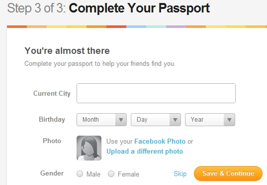 How to list your business on Gowalla Step 3 of 3