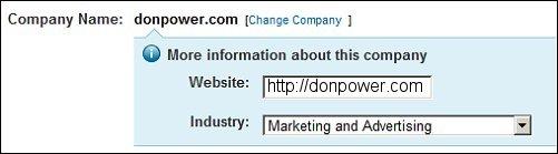Add Company Website to LinkedIn Profile