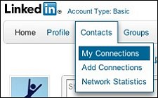 Search Contacts in LinkedIn