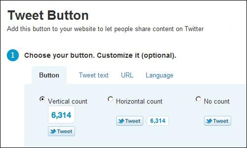 Twitter Tip Tuesday - Twitter Tweet Button