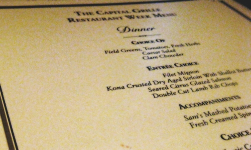5 Restaurants Using Facebook Right - The Capital Grille