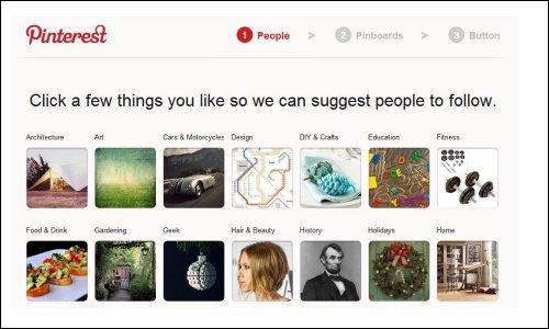 Choose Topics of Interest