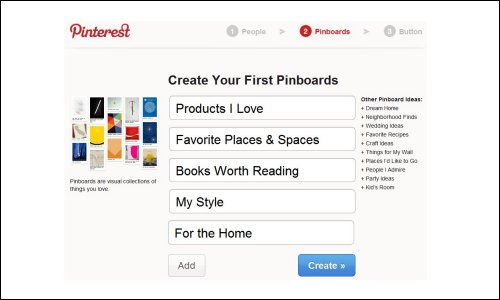Create Your First Pinboards
