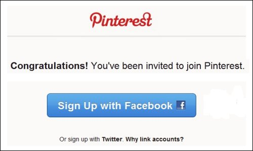 Get an Invitation to Pinterest