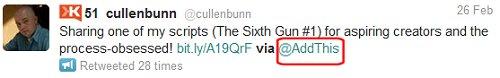 Improperly Configured Tweet Button