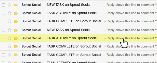 Task Email Notifications