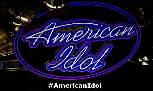 American Idol hashtag