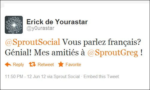 How to Use the Sprout Social Translate Tool