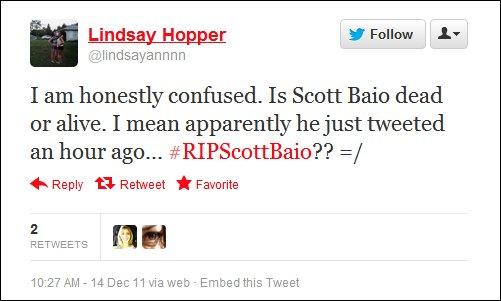 Celebrity Death Rumors on Social Media
