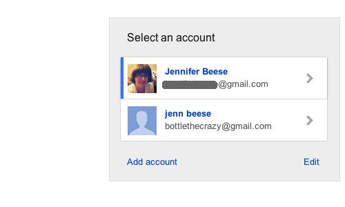 Gmail Entrar usuários