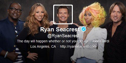 Ryan Seacrest Twitter Header Image