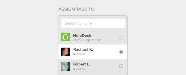 Assign Task Module
