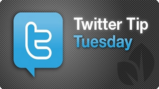 Twitter Tip Tuesday