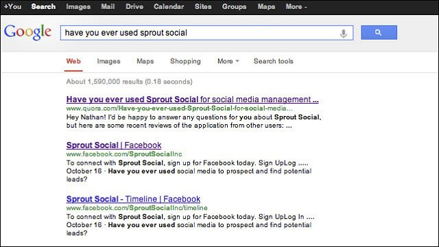 Quora Impacts Search Engine Results