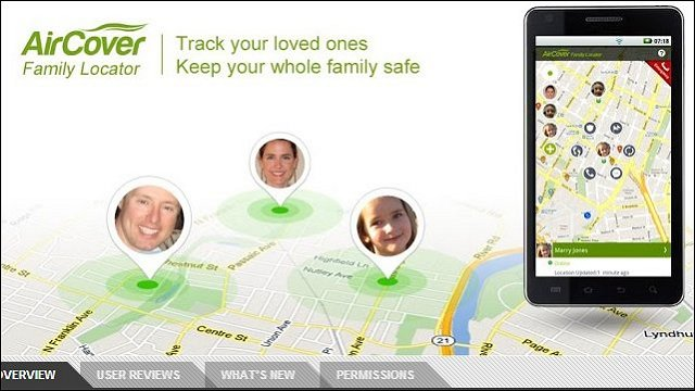 Spotlight On Startups - AirCover Family Locator