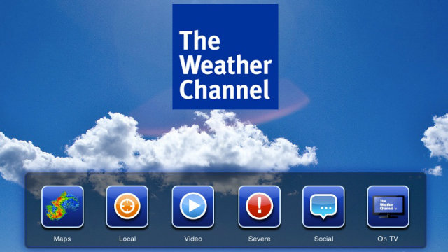 The Weather Channel For Blackberry Curve