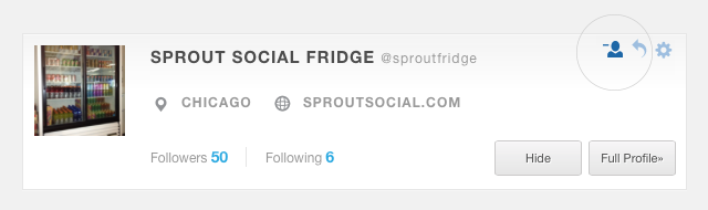 how to unfollow twitter users on sprout social