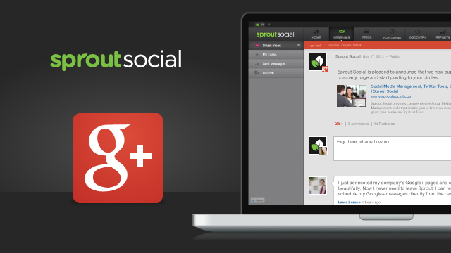 Now You Can Manage Your Google+ Pages With Sprout Social
