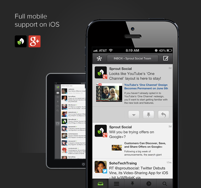 Full Google+ iOS Support