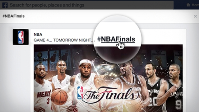 NBA finals hashtag