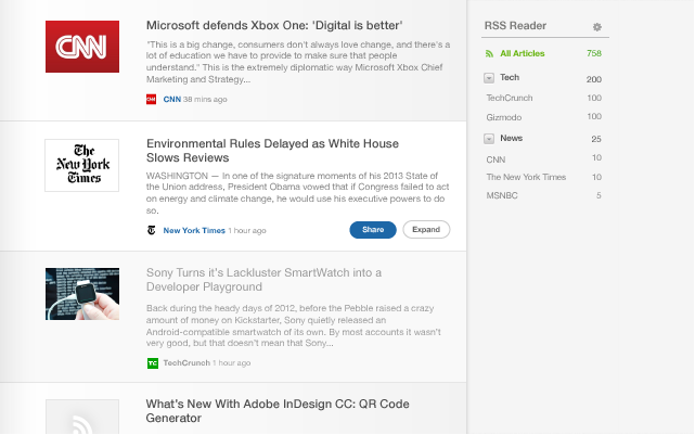 Product Update Feedly Article View