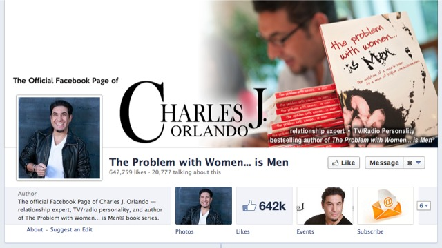 The Problem with Women... is Men on Facebook
