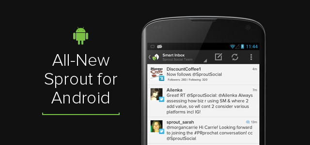 Product Update New Sprout Android App