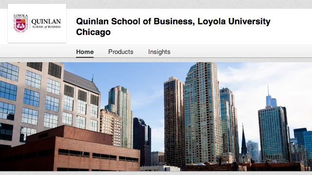 quinlan linkedin page