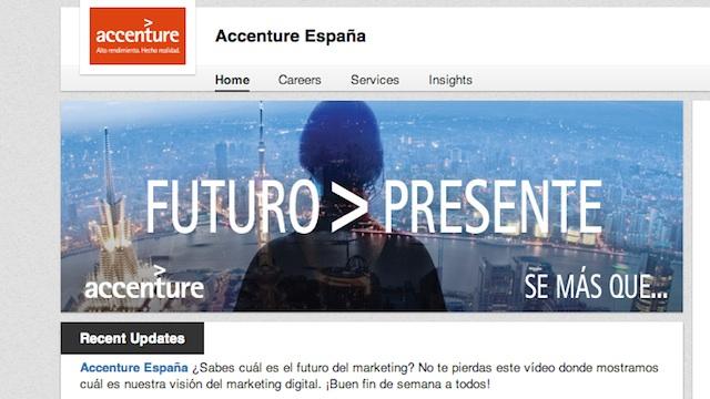 Accenture Espana LinkedIn
