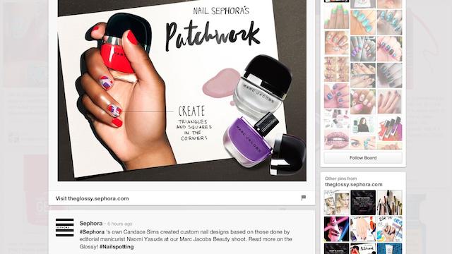 Sephora Pinterest