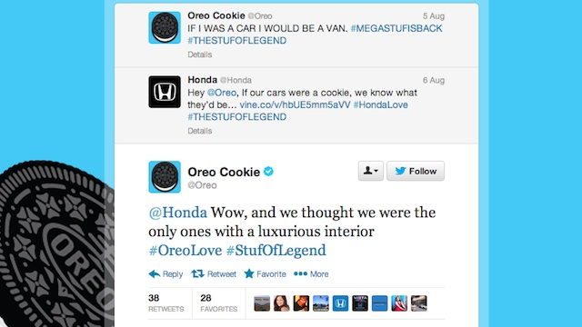 Oreo Twitter screencap
