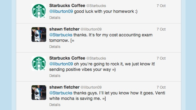 Starbucks Twitter