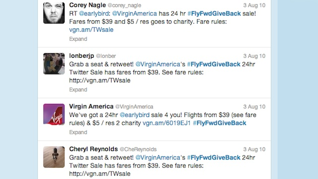 Virgin Twitter screencap