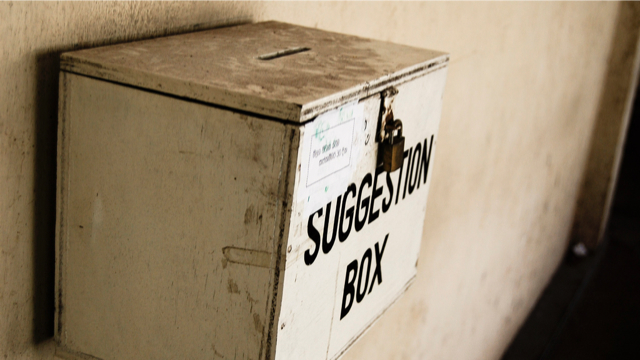 suggestion box 640