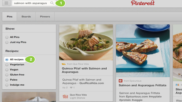 Pinterest-Recipe-Search