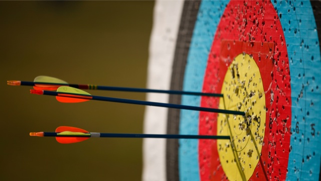 arrows target flickr
