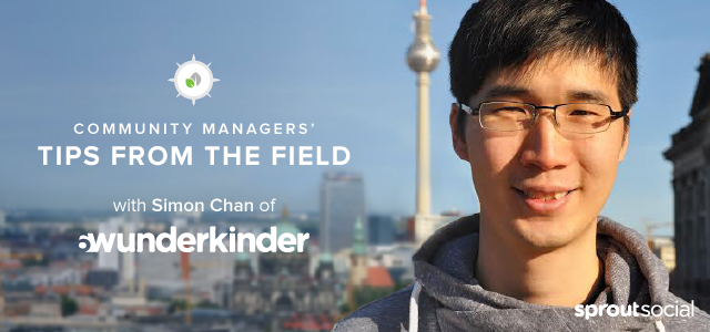 Sprout Social's Community Managers' Tips from the Field with Simon Chan