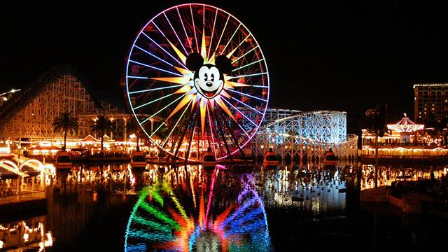 Disneyland wheel