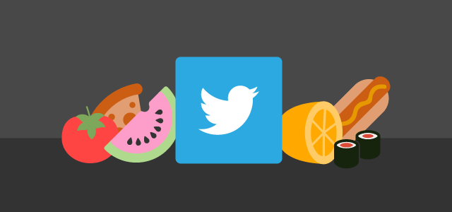 Examining the Ways Food Chains Reach Foodies on Twitter