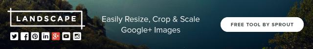 google plus landscape banner