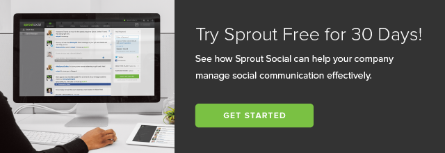 sprout social free trial cta