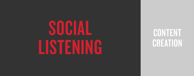social listening and content curation