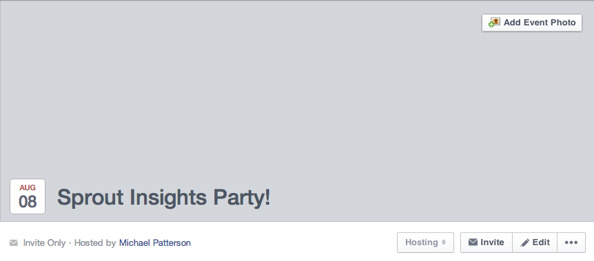 add a facebook event cover