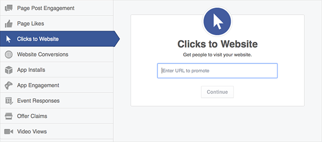 facebook advertising creator screenshot