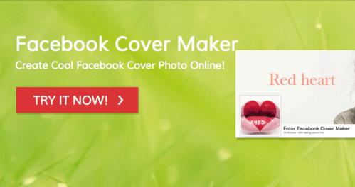 fotor for facebook screenshot