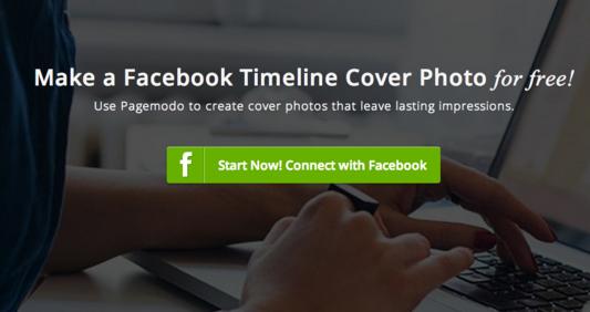 pagemodo cover photo maker screenshot